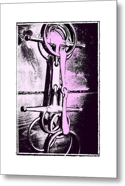 Snaffle Bit Art Metal Print by JAMART Photography