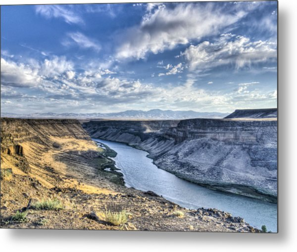 Snake River Canyon Metal Print