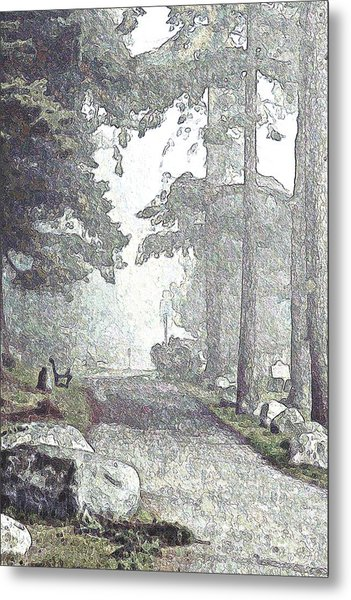 Snicket Fog Metal Print