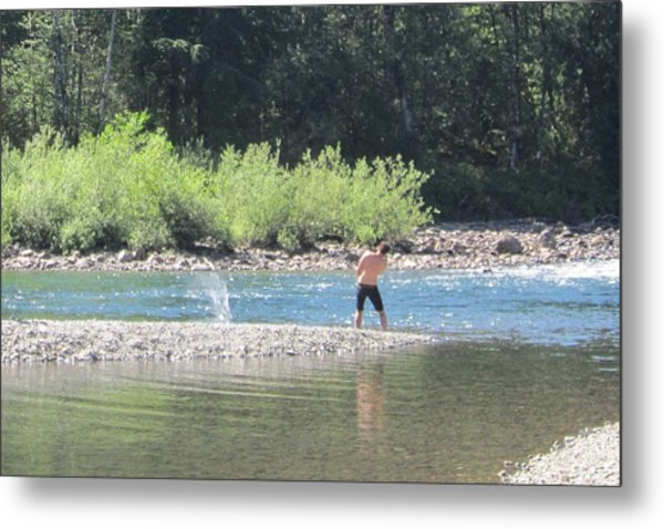 Snoqualmie River 5 Metal Print