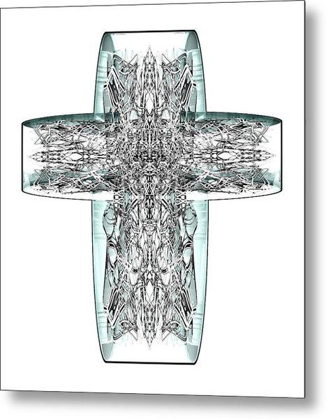 Snow Cross 7  Metal Print