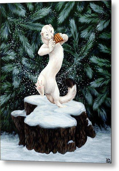 Snow Dance Metal Print by Beth Davies