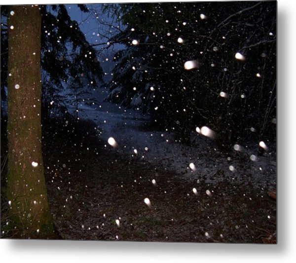Snow Dance Metal Print