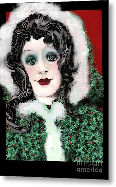 Snow White Winter Metal Print