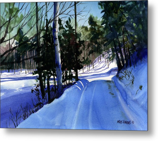 Snowbound Metal Print