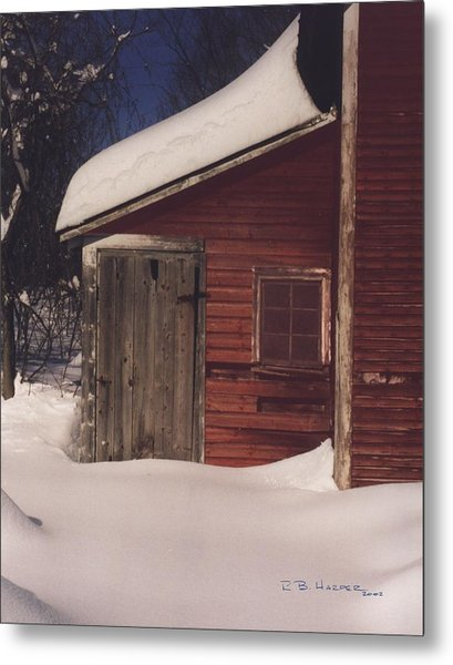 Snowed Out Metal Print