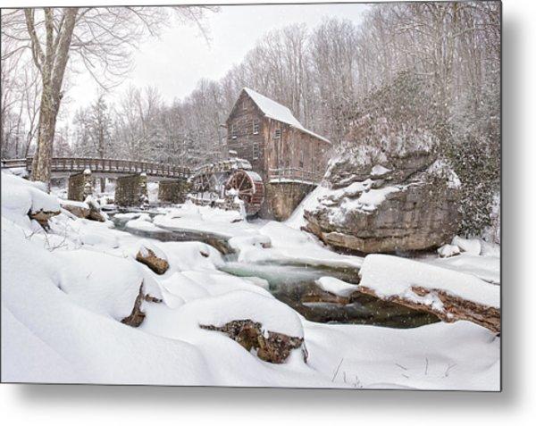Snowglade Creek Grist Mill 1 Metal Print