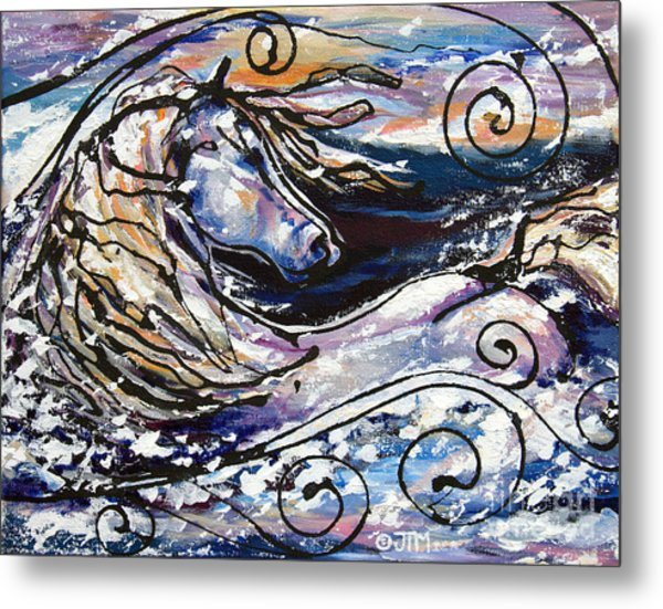 Snowplace Like Home Metal Print