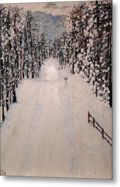 Snowy 27th Metal Print