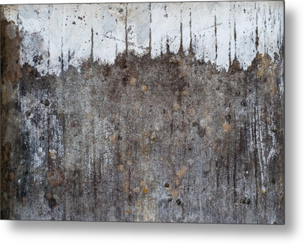 Metal Print featuring the photograph Snowy Mountain Top 2 by Jani Freimann