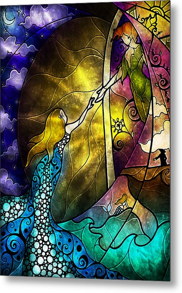 Off To Neverland Metal Print