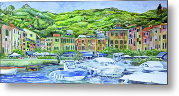 So This Is Portofino Metal Print