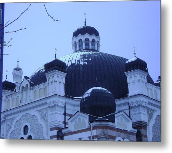 Sofia Synagogue In Bulgaria Metal Print