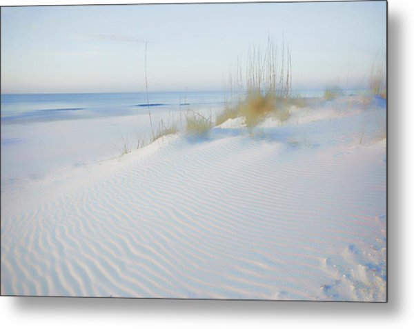 Soft Sandy Beach Metal Print
