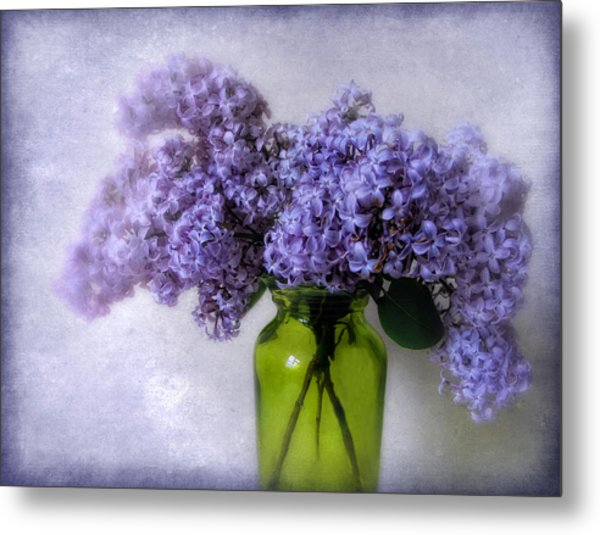 Soft Spoken Metal Print