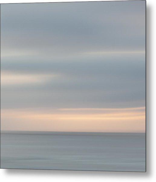 Soft Sunset La Jolla Metal Print