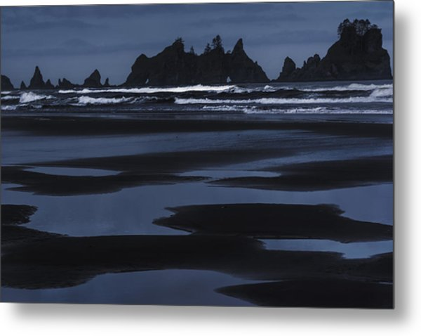 Soft Surf Metal Print