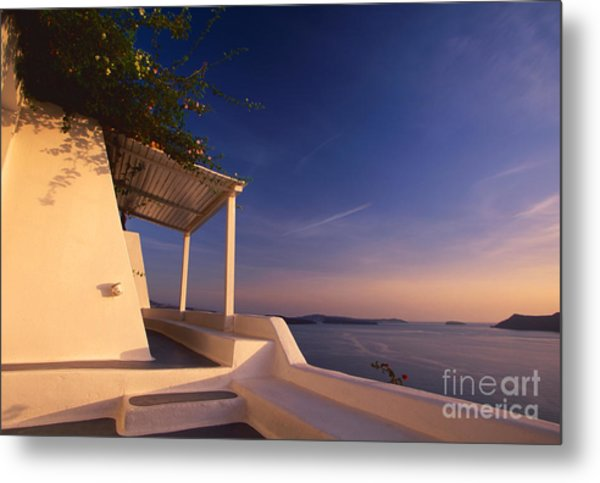 Soft Wind Metal Print