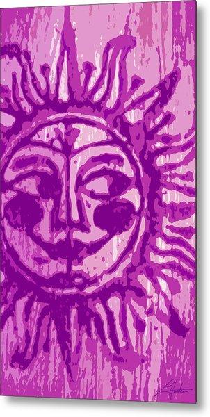 Sol - Fuschia Metal Print