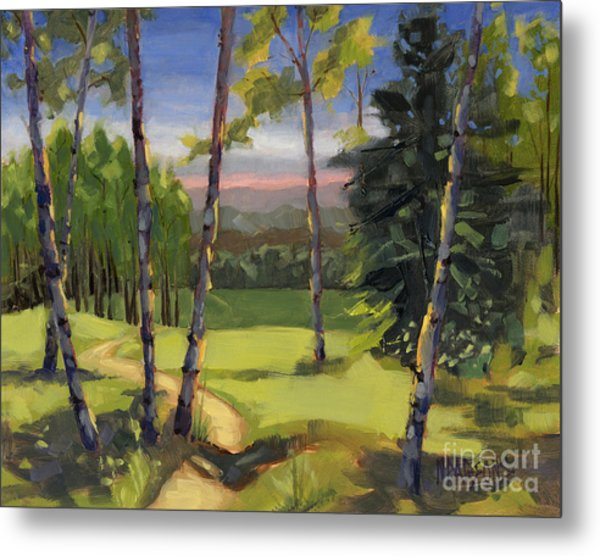 Sold - Grass Is Always Greener Metal Print