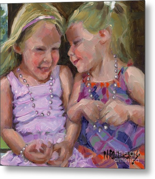 Sold Silly Sister Secrets Metal Print