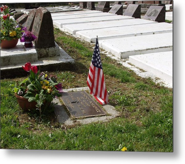 Soldiers Final Resting Place Metal Print