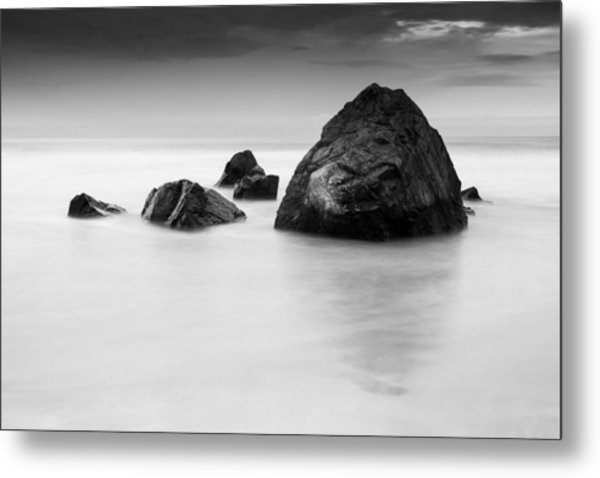 Solid And Ethereal Metal Print