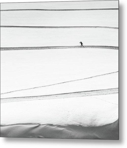 Solitary . . Metal Print by Matej Rumansky