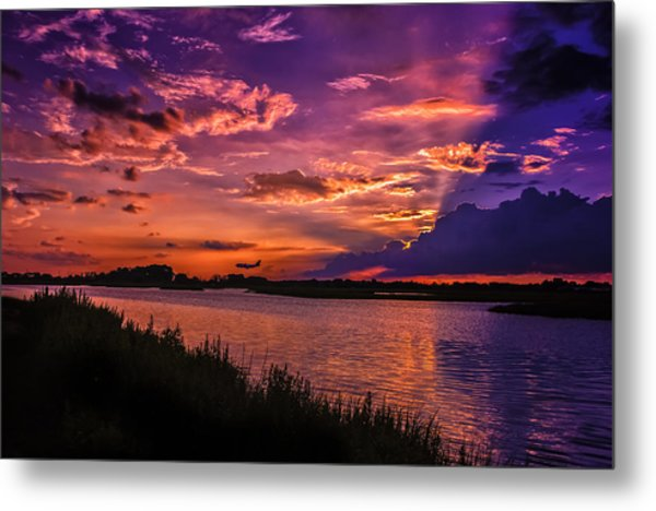 Some Enchanted Evening Metal Print