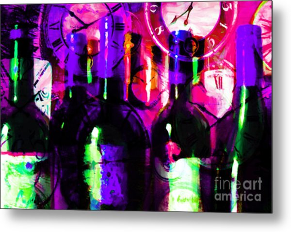 Some Things Get Better With Time M88 Metal Print by Wingsdomain Art and Photography
