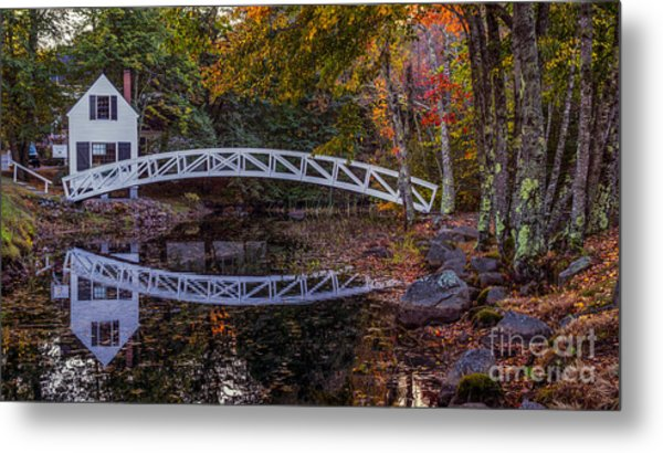 Somersville Maine. Metal Print