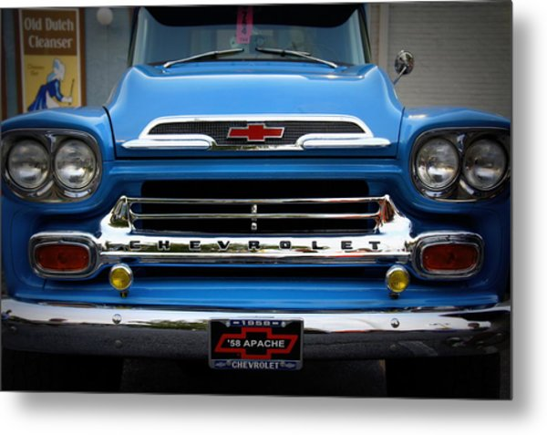 Something Bout A Truck Metal Print