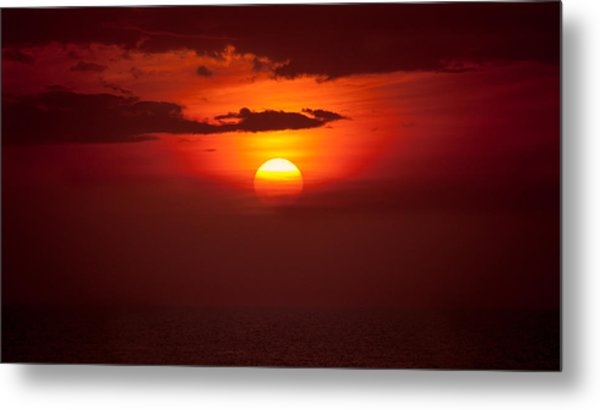 Somewhere In The Bahamas Metal Print
