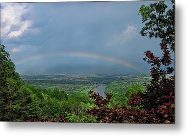 Somewhere Over The Blue Ridge Metal Print
