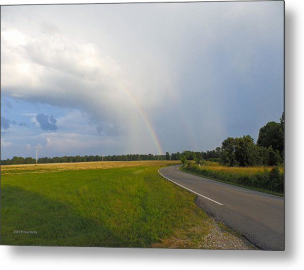 Somewhere Under The Rainbow Metal Print