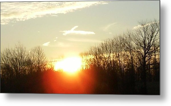 Son Above The Sun Metal Print
