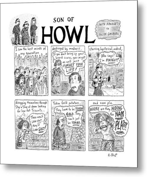 Son Of Howl Metal Print