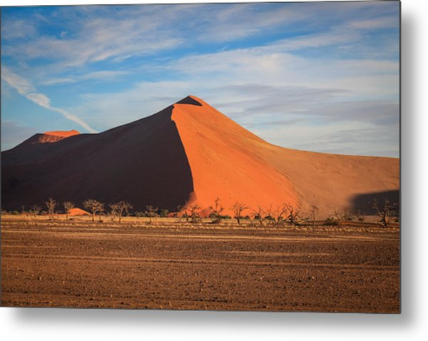 Sossusvlei Park Sand Dune Metal Print