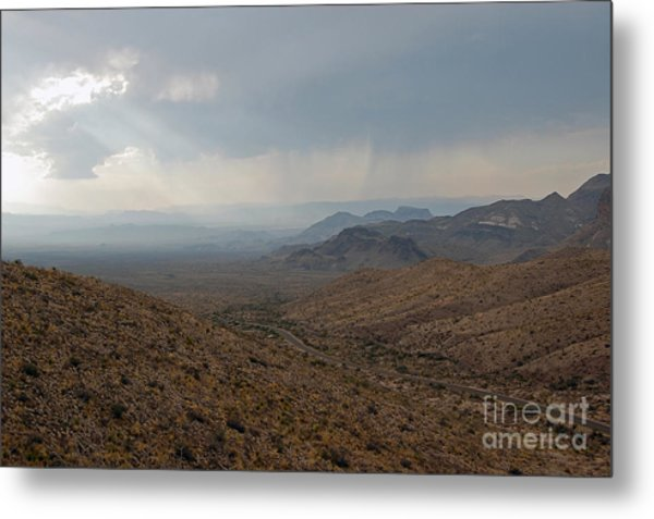 Sotol Scenic Overlook Big Bend National Park Metal Print