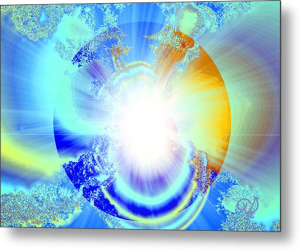 Soul Expansion Metal Print