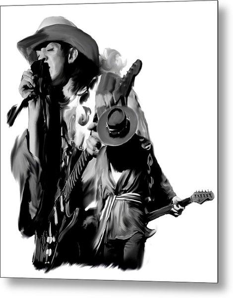 Soul To Soul  Stevie Ray Vaughan Metal Print