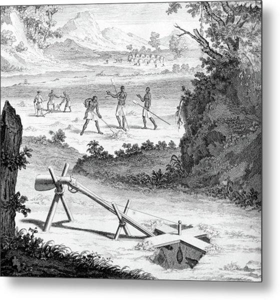 South Africa, Khoikhoi Mole Traps Metal Print