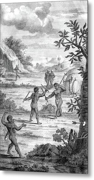 South Africa, Khoikhoi Weapons Training Metal Print