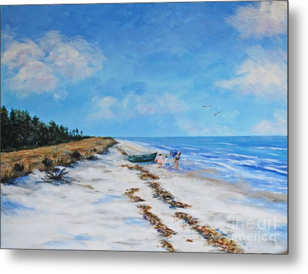 South Beach  Hilton Head Island Metal Print