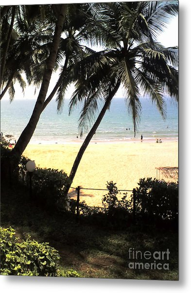 South Beach - Miami Metal Print