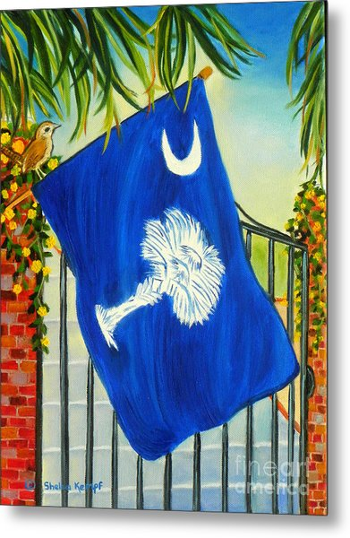 South Carolina - A State Of Art Metal Print