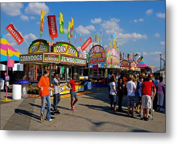 South Carolina State Fair Metal Print