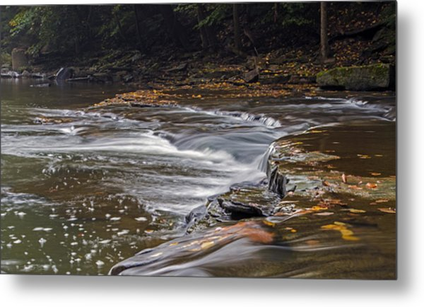 South Chagrin Reservation Creek Metal Print