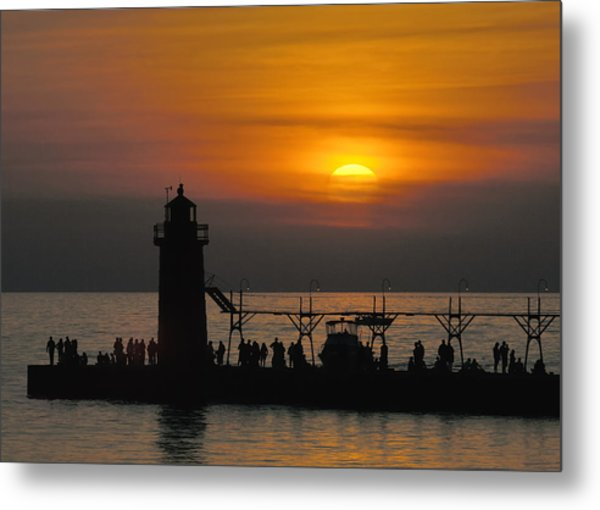South Haven Lighthouse Metal Print