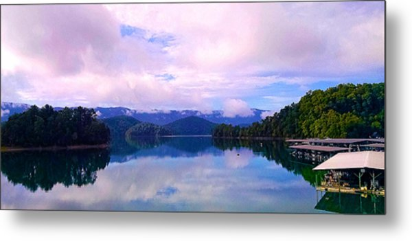 South Holston Lake Tn Metal Print